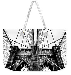 Strong Perspective Weekender Tote Bag by Az Jackson