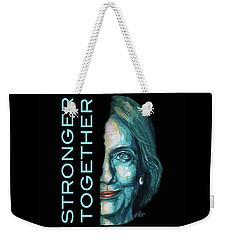 Stronger Together Weekender Tote Bag by Konni Jensen