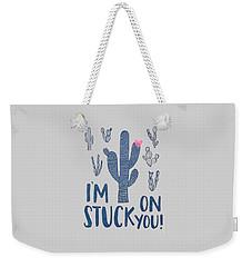 Stuck On You Weekender Tote Bag by Elizabeth Taylor