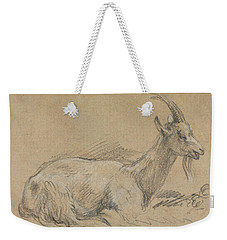 Study Of A Goat Weekender Tote Bag by Thomas Gainsborough