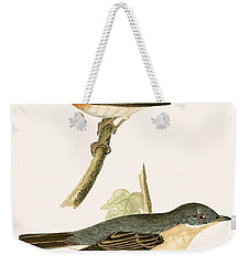 Sub Alpine Warbler Weekender Tote Bag by English School