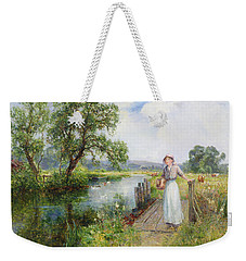 Summer Weekender Tote Bag by Ernest Walbourn
