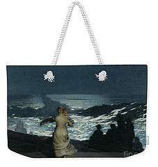 Summer Night Weekender Tote Bag by Winslow Homer