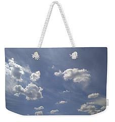 Summertime Sky Expanse Weekender Tote Bag by Arletta Cwalina