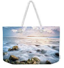 Sunrise On The Beach, Maldive Weekender Tote Bag by Katesalin Pagkaihang