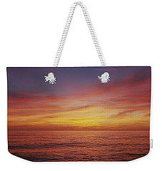 Sunset Over A Sea, Gulf Of Mexico Weekender Tote Bag by Panoramic Images
