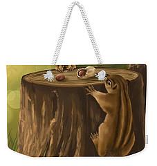 Sweet Snack Weekender Tote Bag by Veronica Minozzi