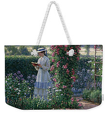 Sweet Solitude Weekender Tote Bag by Edmund Blair Leighton