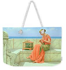 Sweet Sounds Weekender Tote Bag by John William Godward