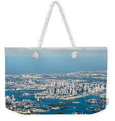 Sydney From The Air Weekender Tote Bag by Parker Cunningham