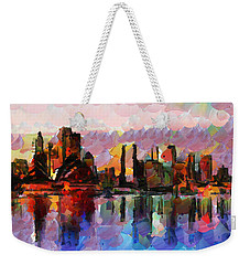 Sydney Here I Come Weekender Tote Bag by Sir Josef Social Critic - ART