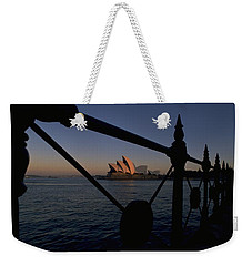 Weekender Tote Bag featuring the photograph Sydney Opera House by Travel Pics