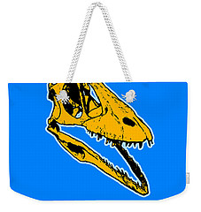 T-rex Graphic Weekender Tote Bag by Pixel  Chimp