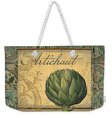 Tavolo, Italian Table, Artichoke Weekender Tote Bag by Mindy Sommers