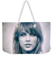 Taylor Swift - Beautiful Weekender Tote Bag by Robert Radmore
