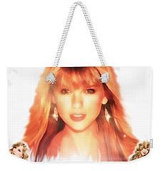 Taylor Swift - Stunning Weekender Tote Bag by Robert Radmore