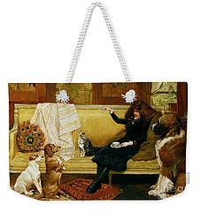 Teatime Treat Weekender Tote Bag by John Charlton