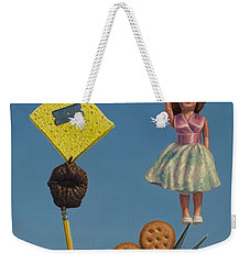 Tenuous Still-life 2 Weekender Tote Bag by James W Johnson