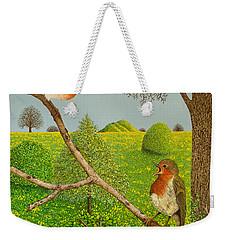 Territorial Rights Weekender Tote Bag by Pat Scott