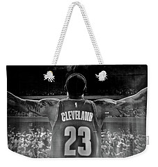 Thanks Lebron Weekender Tote Bag by Frozen in Time Fine Art Photography