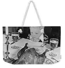 Thanksgiving Dinner Weekender Tote Bag by American School