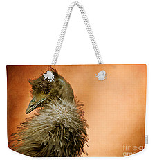 That Shy Come-hither Stare Weekender Tote Bag by Lois Bryan