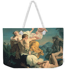 The Abduction Of Deianeira By The Centaur Nessus Weekender Tote Bag by Louis Jean Francois Lagrenee