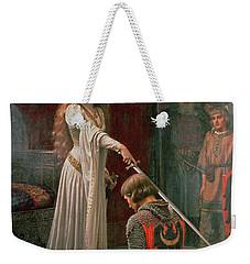 The Accolade Weekender Tote Bag by Edmund Blair Leighton