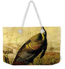 The American Wild Turkey Cock Weekender Tote Bag by John James Audubon