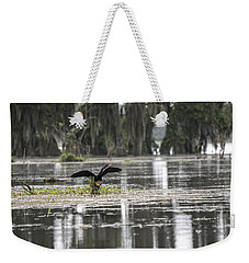 The Announcer  Weekender Tote Bag by Betsy Knapp