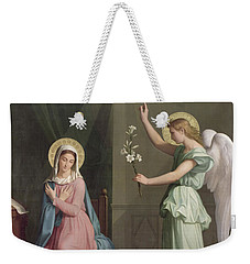 The Annunciation Weekender Tote Bag by Auguste Pichon