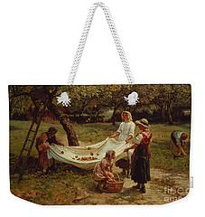 The Apple Gatherers Weekender Tote Bag by Frederick Morgan