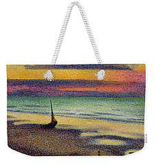 The Beach At Heist Weekender Tote Bag by Georges Lemmen