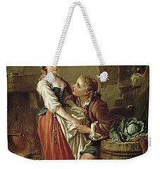 The Beautiful Kitchen Maid Weekender Tote Bag by Francois Boucher