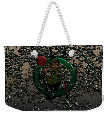 The Boston Celtics 1c Weekender Tote Bag by Brian Reaves