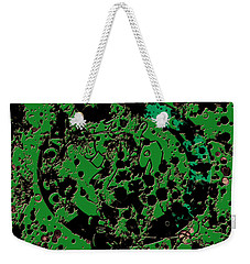 The Boston Celtics 6c Weekender Tote Bag by Brian Reaves