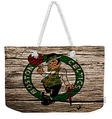The Boston Celtics W1 Weekender Tote Bag by Brian Reaves