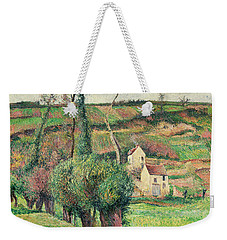 The Cabbage Slopes Weekender Tote Bag by Camille Pissarro