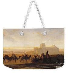 The Caravan Weekender Tote Bag by Alexandre Gabriel Decamps