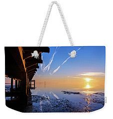 Weekender Tote Bag featuring the photograph The Chosen by Thierry Bouriat
