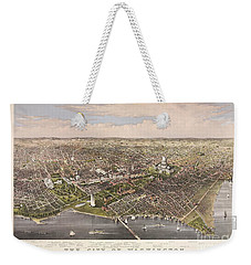 The City Of Washington Weekender Tote Bag by Charles Richard Parsons