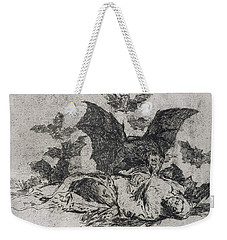 The Consequences Weekender Tote Bag by Goya