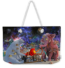 The Curious Game Weekender Tote Bag by Betsy Knapp