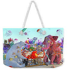 The Curious Game Hc Weekender Tote Bag by Betsy Knapp