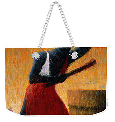 The Drummer Weekender Tote Bag by Tilly Willis