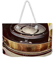 The Floating White House Original Compass Weekender Tote Bag by Rhonda Chase