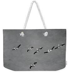 The Flock Weekender Tote Bag by Kim Hojnacki