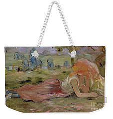 The Goatherd Weekender Tote Bag by Berthe Morisot