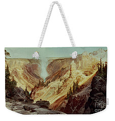 The Grand Canyon Of The Yellowstone Weekender Tote Bag by Thomas Moran