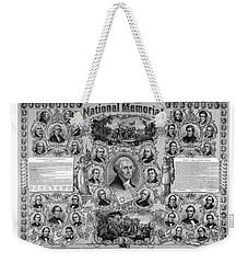 The Great National Memorial Weekender Tote Bag by War Is Hell Store